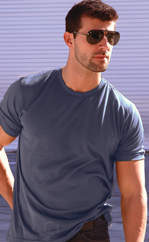 Navy Blue Mens T-Shirt
