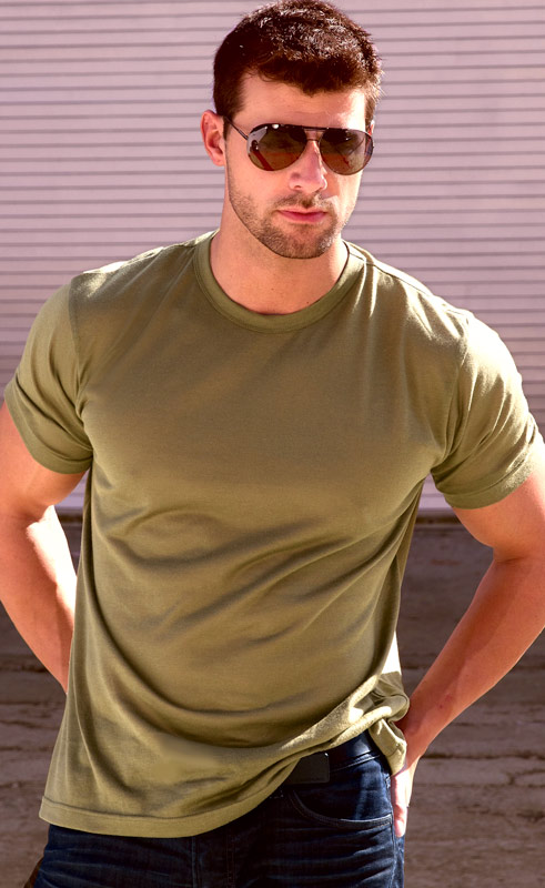 Olive Drab Mens T-Shirt