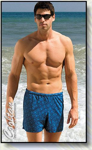 Blue Royale Swim Shorts