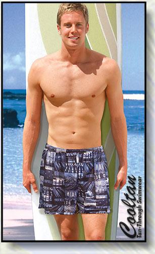 Casino Swim Shorts
