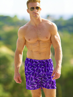 Amethyst Swim Trunks