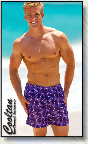 Image of Amethyst Swim Shorts