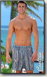 Men's Sante Fe Cooltan Tan-Through Board Shorts