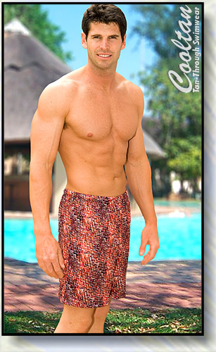 Red Spice Board Shorts
