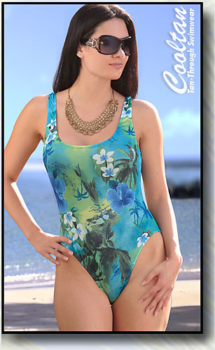 Aruba 1PC Tank Top Suit