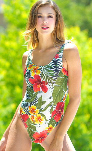 Oahu 1PC Tank Top Suit