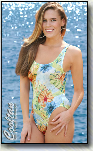 Hawaii 1PC Tank Top Suit