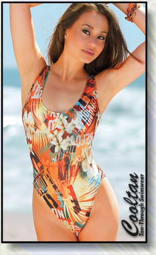 Sunrise 1PC Tank Top Suit