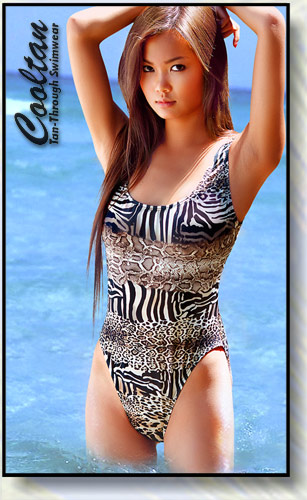 Safari 1PC Tank Top Suit
