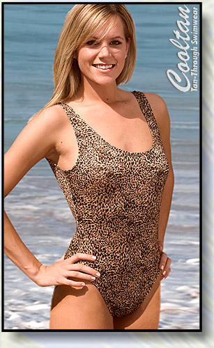Gold Lynx 1PC Tank Top Suit