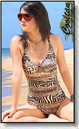 Safari 1PC Structured Top Suit