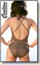 Gold Cheetah Back Shot