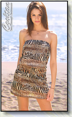 Safari Versatile Beach Cover-Up