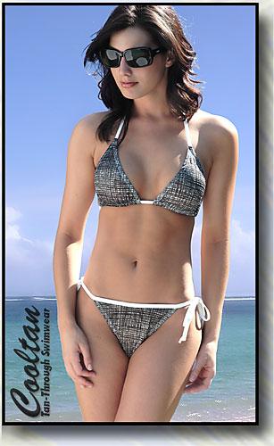 Matrix Triangle Top Bikini