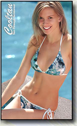 Festiva Triangle Top Bikini