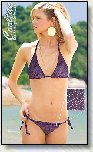 Sea Salt Triangle Top Bikini