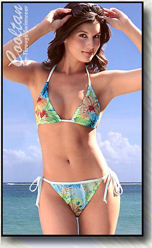 Hawaii Triangle Top Bikini