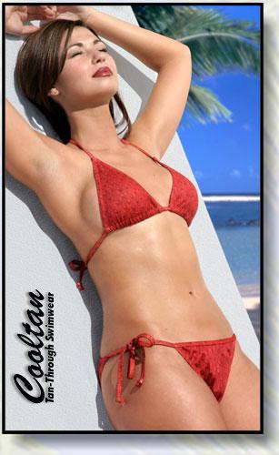 Red Sea Triangle Top Bikini