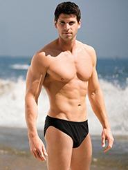 tan through mens swimwear